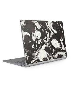 Marbleized Black Surface Book 2 15in Skin