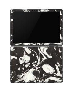 Marbleized Black Surface Pro 6 Skin