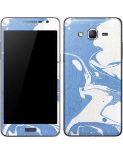 Marbleized Blue Galaxy Grand Prime Skin