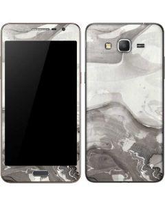 Marbleized Grey Galaxy Grand Prime Skin