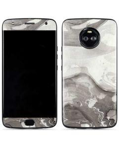 Marbleized Grey Moto X4 Skin