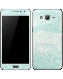 Marbleized Mint Galaxy Grand Prime Skin