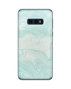 Marbleized Mint Galaxy S10e Skin