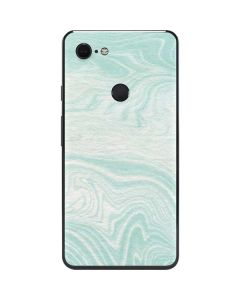 Marbleized Mint Google Pixel 3 XL Skin