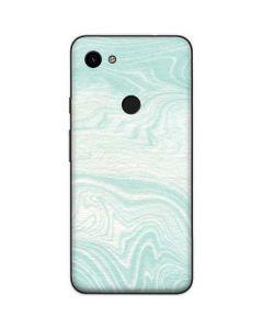 Marbleized Mint Google Pixel 3a Skin