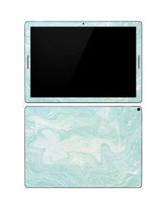 Marbleized Mint Google Pixel Slate Skin