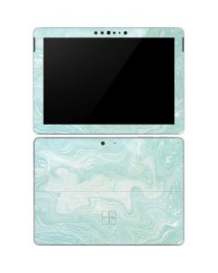 Marbleized Mint Surface Go Skin