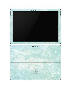 Marbleized Mint Surface Pro 6 Skin