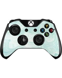 Marbleized Mint Xbox One Controller Skin