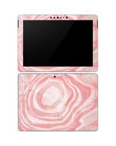 Marbleized Pink Surface Go Skin