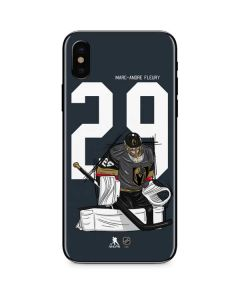 Marc-Andre Fleury #29 Action Sketch iPhone XS Skin