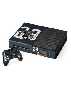 Marc-Andre Fleury #29 Action Sketch Xbox One Console and Controller Bundle Skin
