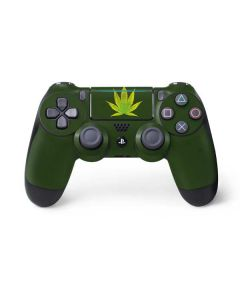Marijuana Leaf Light Green PS4 Pro/Slim Controller Skin