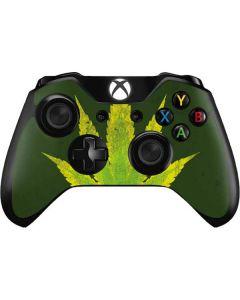 Marijuana Leaf Light Green Xbox One Controller Skin