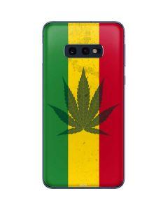 Marijuana Rasta Flag Galaxy S10e Skin