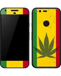 Marijuana Rasta Flag Google Pixel Skin