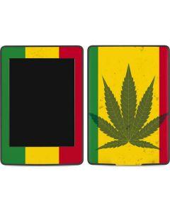 Marijuana Rasta Flag Amazon Kindle Skin