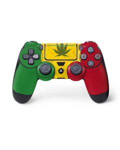 Marijuana Rasta Flag PS4 Pro/Slim Controller Skin