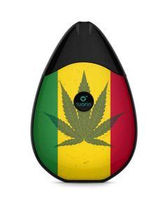 Marijuana Rasta Flag Suorin Drop Vape Skin
