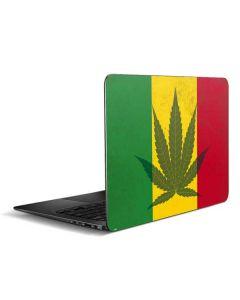 Marijuana Rasta Flag Zenbook UX305FA 13.3in Skin