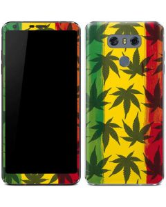Marijuana Rasta Pattern LG G6 Skin