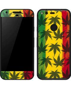 Marijuana Rasta Pattern Google Pixel Skin