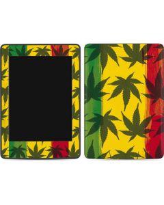 Marijuana Rasta Pattern Amazon Kindle Skin