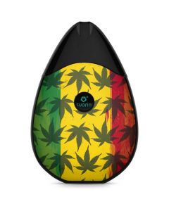 Marijuana Rasta Pattern Suorin Drop Vape Skin