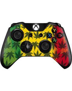 Marijuana Rasta Pattern Xbox One Controller Skin