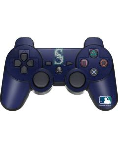 Mariners Embroidery PS3 Dual Shock wireless controller Skin