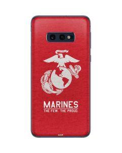 Marines Red Distressed Galaxy S10e Skin