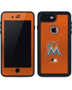 Marlins Embroidery iPhone 8 Plus Waterproof Case