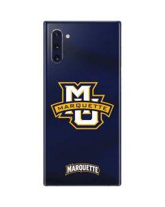 Marquette University Galaxy Note 10 Skin