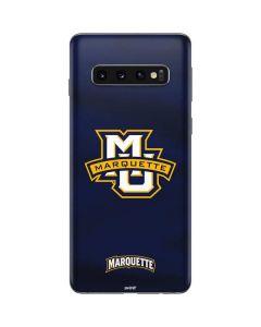 Marquette University Galaxy S10 Skin