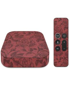 Marsala Rose Apple TV Skin