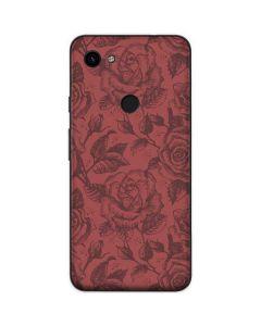 Marsala Rose Google Pixel 3a Skin