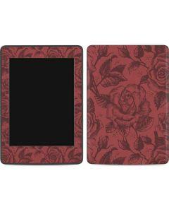 Marsala Rose Amazon Kindle Skin