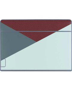 Marsala Triangle Shapes Galaxy Book Keyboard Folio 12in Skin