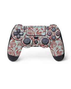 Marsala White Rose PS4 Pro/Slim Controller Skin