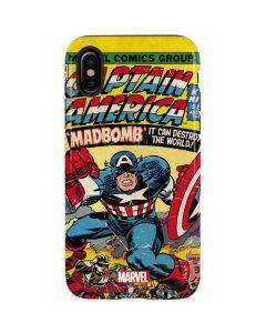 Marvel Comics Captain America iPhone X Pro Case