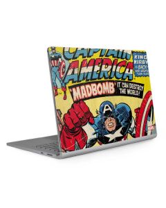 Marvel Comics Captain America Surface Book 2 13.5in Skin