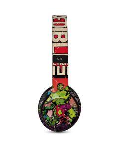 Marvel Comics Hulk Beats Solo 3 Wireless Skin