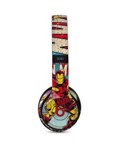 Marvel Comics Ironman Beats Solo 3 Wireless Skin