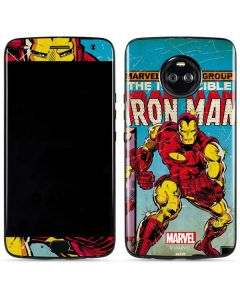 Marvel Comics Ironman Moto X4 Skin