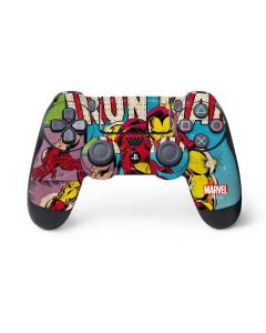 Marvel Comics Ironman PS4 Controller Skin