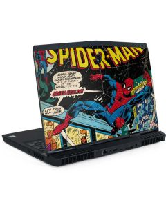Marvel Comics Spiderman Dell Alienware Skin