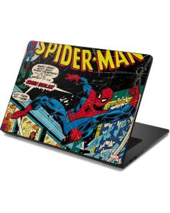Marvel Comics Spiderman Dell Chromebook Skin