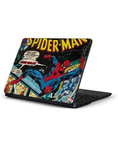 Marvel Comics Spiderman Samsung Chromebook Skin