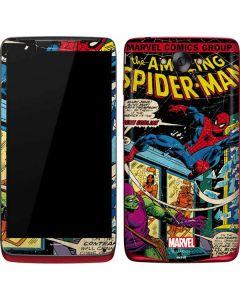 Marvel Comics Spiderman Motorola Droid Skin