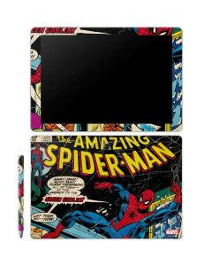 Marvel Comics Spiderman Galaxy Book 12in Skin